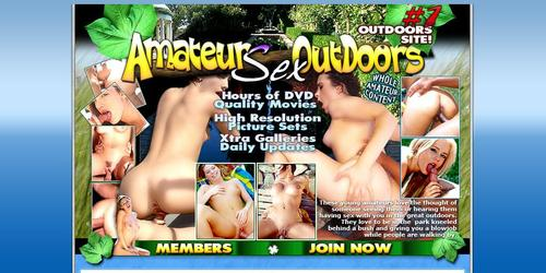 amateur sex outdoors