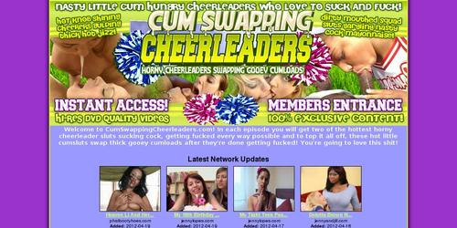 cumswapping cheerleaders