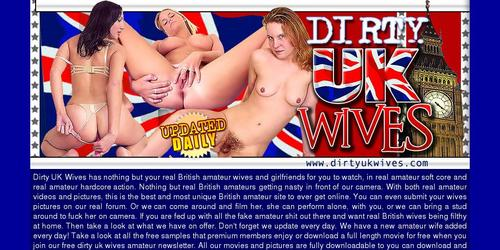 dirty uk wives