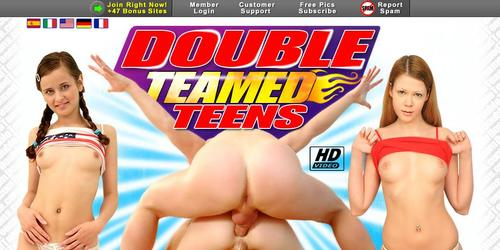 double teamed teens