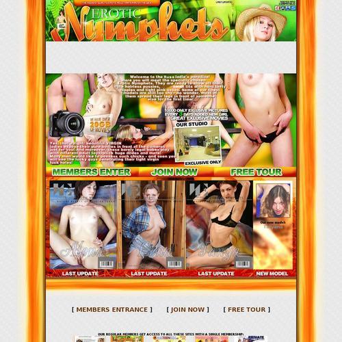 erotic nymphets: