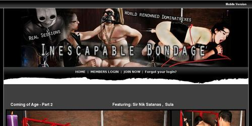 inescapable bondage