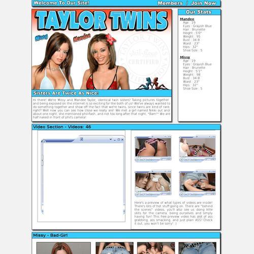 Taylor twins sex free vids